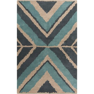 Broadhead Moss Area Rug Rug Size: Rectangle 33 x 53