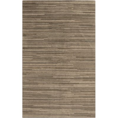 Alica Beige Stripe Area Rug Rug Size: Rectangle 5 x 8
