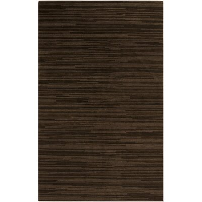 Alica Chocolate Rug Rug Size: 5' x 8'