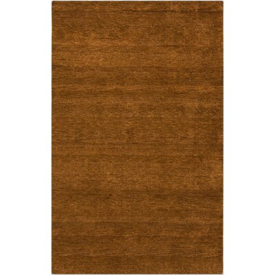 Beagle Burnt Orange Rug Rug Size: Rectangle 8 x 11