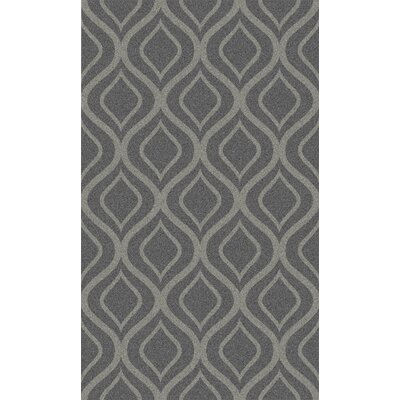 Lurenda Hand-Woven Taupe Geometric Area Rug Rug Size: Rectangle 2 x 3