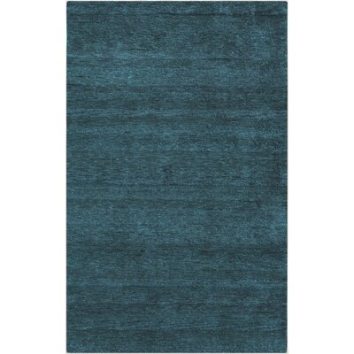 Beagle Teal Rug Rug Size: Rectangle 2 x 3