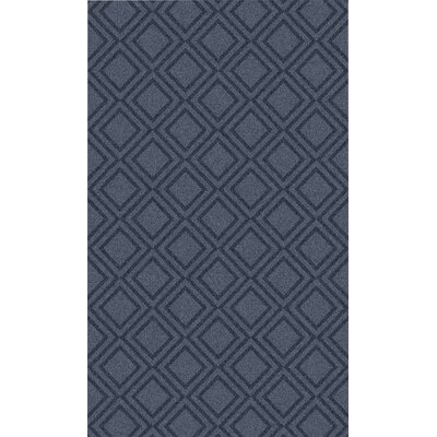 Audington Navy Rug Rug Size: 36 x 56