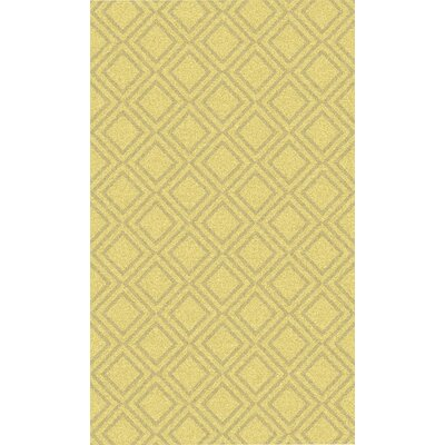 Crittenden Gold Geometric Rug Rug Size: Rectangle 2 x 3