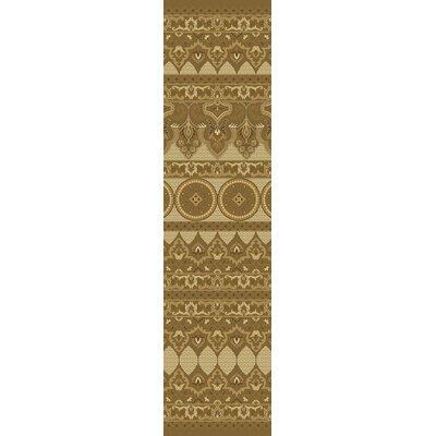 Marlee Chocolate Rug Rug Size: Runner 26 x 10