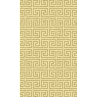 Manning Gold Rug Rug Size: Rectangle 8 x 11