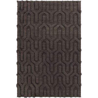 Burchfield Taupe Geometric Rug Rug Size: Rectangle 36 x 56