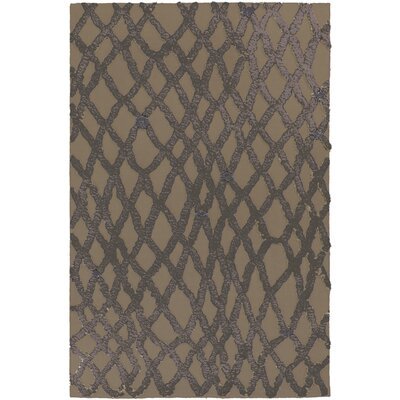Aubriana Gray Rug Rug Size: Rectangle 36 x 56