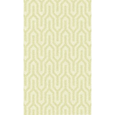 Burchfield Ivory Geometric Rug Rug Size: Rectangle 36 x 56