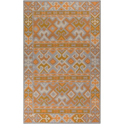 Wellsville Gold Rug Rug Size: Rectangle 8 x 11