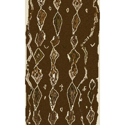 Aubriana Taupe Hand Woven Rug Rug Size: Rectangle 3'6