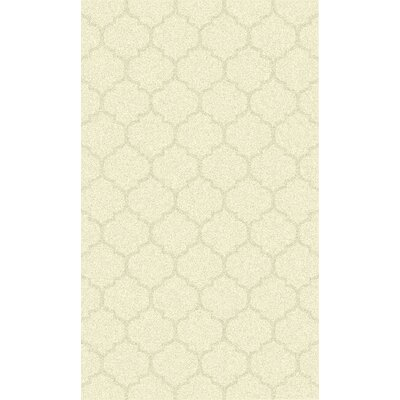 Avian Ivory Geometric Rug Rug Size: Rectangle 8 x 11