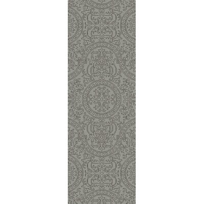 Alivia Gray Abstract Area Rug Rug Size: Runner 26 x 8
