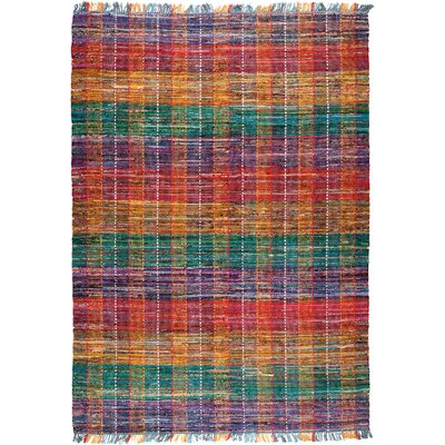 Rhys Striped Area Rug Rug Size: Rectangle 5 x 8