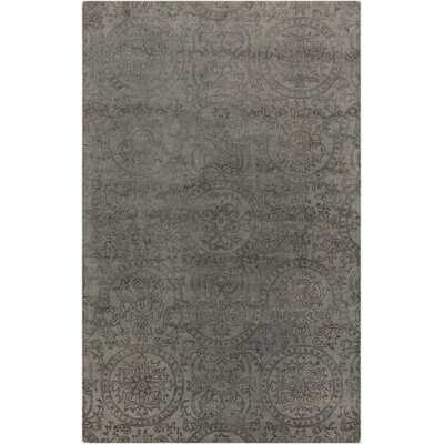 Alivia Gray Abstract Area Rug Rug Size: 5 x 8