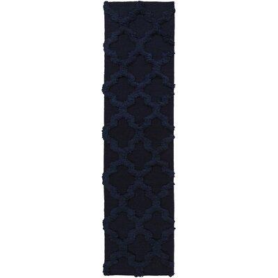 Twinbrook Navy Geometric Rug Rug Size: Runner 26 x 8