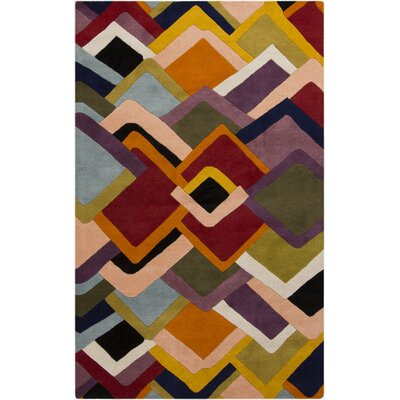 Envelopes Hand-Tufted Area Rug Rug Size: 2 x 3
