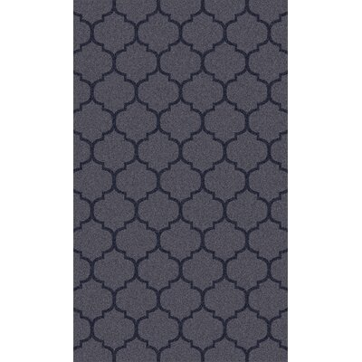 Twinbrook Navy Geometric Rug Rug Size: Rectangle 36 x 56