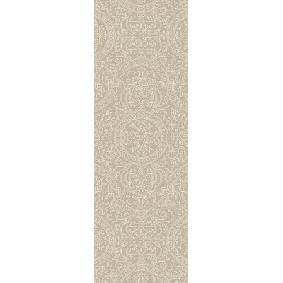 Alivia Beige Abstract Area Rug Rug Size: Runner 26 x 8