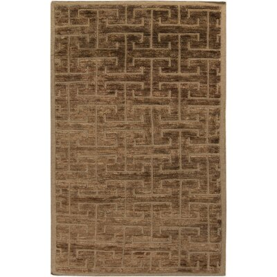 Helston Taupe Area Rug Rug Size: Rectangle 5 x 8