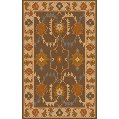 Wellsville Chocolate Rug Rug Size: 5 x 8