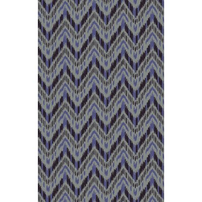 Crisler Iris Striped Area Rug Rug Size: Rectangle 5 x 8