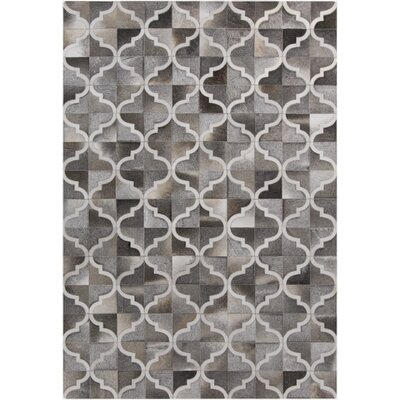 Georgianne Hand Woven Gray Area Rug Rug Size: Rectangle 8 x 10