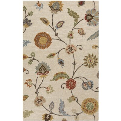 Stowe Ivory Rug Rug Size: Rectangle 5 x 8