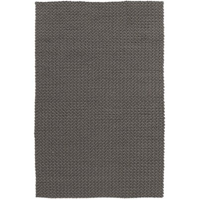Joyce Gray Texture Area Rug Rug Size: 5 x 8