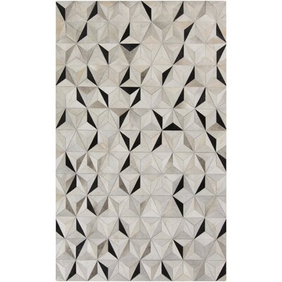 Camilla Charcoal/Gray Area Rug Rug Size: Rectangle 8 x 10