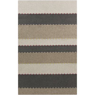 Auerbach Striped Rug Rug Size: Rectangle 8 x 11