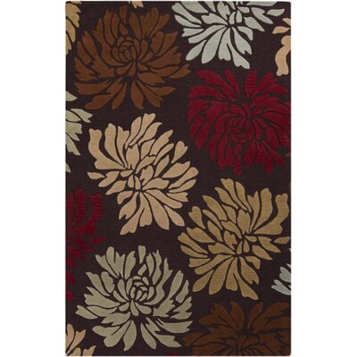 Keeney Hand-Tufted Taupe Area Rug Rug Size: 2 x 3