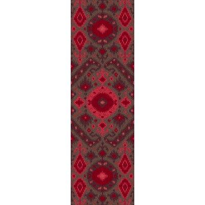 Mooney Magenta Rug Rug Size: Runner 26 x 8
