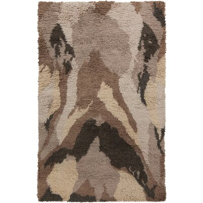 Leora Mocha Rug Rug Size: Rectangle 5 x 8