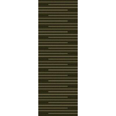 Huxley Olive Rug Rug Size: Runner 26 x 8
