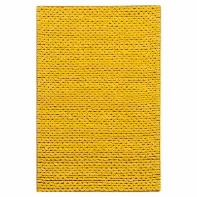 Jaxton Golden Raisin Area Rug Rug Size: 8' x 10'