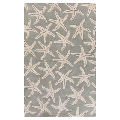 Brickyard Slate Gray/Oyster Gray Rug Rug Size: Rectangle 33 x 53
