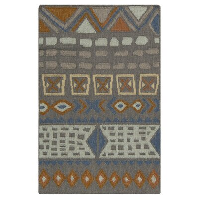 Avis Burnt Orange Area Rug Rug Size: Rectangle 33 x 53