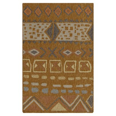 Bungalow Rose Avis Amber Area Rug