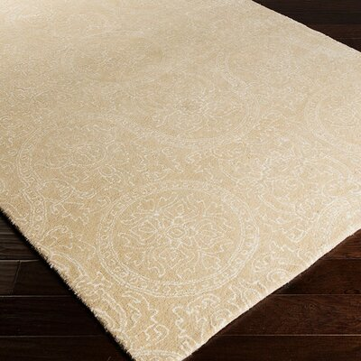 Alivia Beige Abstract Area Rug Rug Size: Rectangle 33 x 53