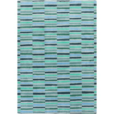 Futch Hand-Tufted Blue Area Rug Rug Size: Rectangle 8 x 11
