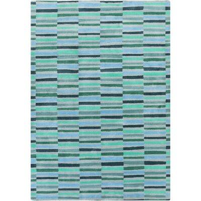 Futch Hand-Tufted Blue Area Rug Rug Size: 8 x 11