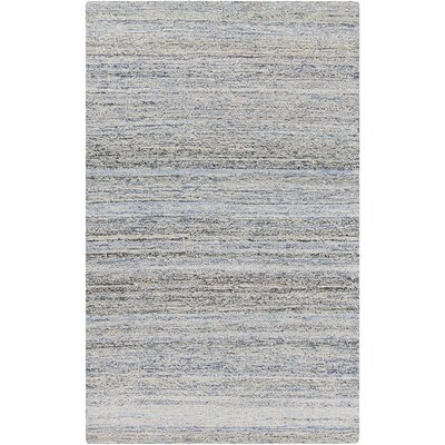 Halton Sky Blue Area Rug Rug size: Rectangle 8 x 11