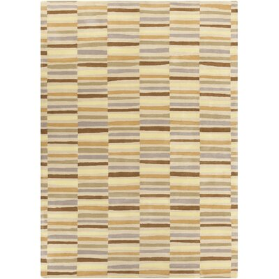 Futch Tan Area Rug Rug size: Rectangle 8 x 11