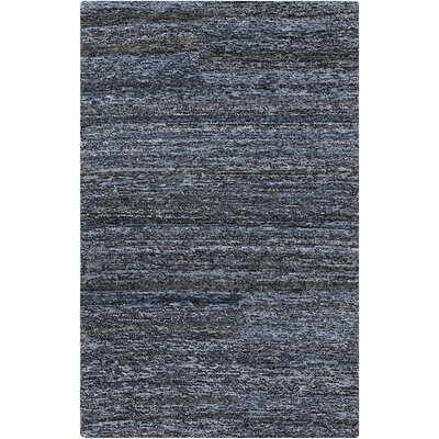 Halton Sky Blue Area Rug Rug size: Rectangle 2' x 3'