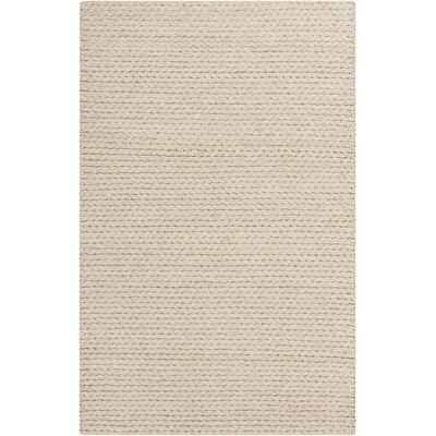 Stanford Beige Area Rug Rug size: Rectangle 5 x 76
