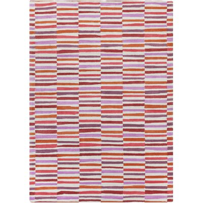 Futch Hand-Tufted Pink Area Rug Rug Size: Rectangle 8 x 11