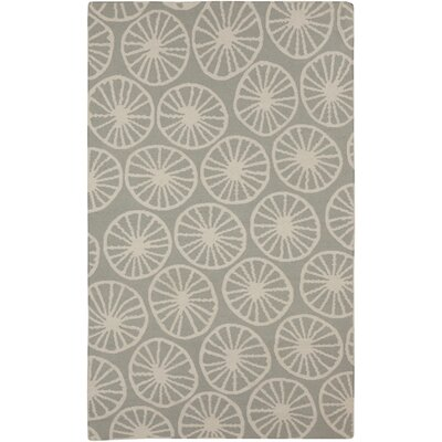 Byington Coastal Slate Area Rug Rug size: Rectangle 5 x 8