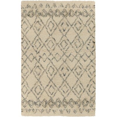 Santos Beige/Gray Area Rug Rug Size: Rectangle 2 x 3
