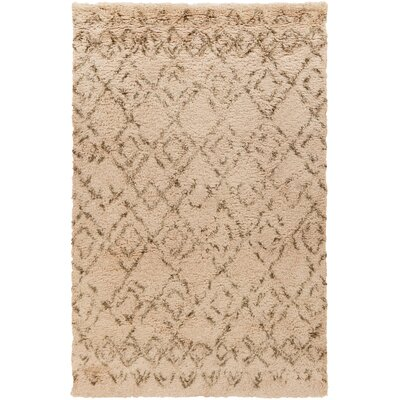 Santos Olive/Salmon Area Rug Rug Size: Rectangle 8 x 10